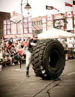 images of the Thunder Bay RIBFEST Strongman competion